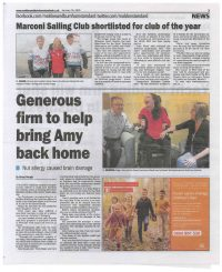 Bringing Amy Home | Maldon Building Services