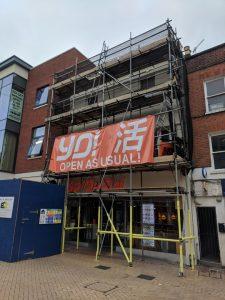 Chelmsford High Street, Shop Facade Rennovations   Maldon Building Services